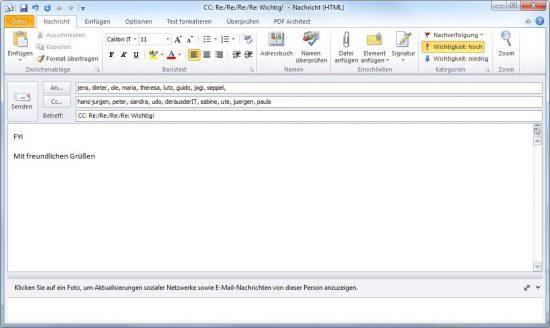 Umgang mit der E-Mail Flut: Wie schreibe ich gute Emails?